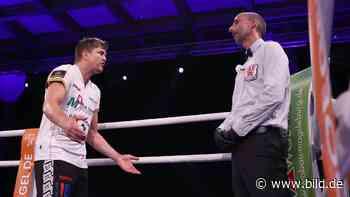 Boxen: Dzemski-Zoff mit dem Ringrichter - BILD