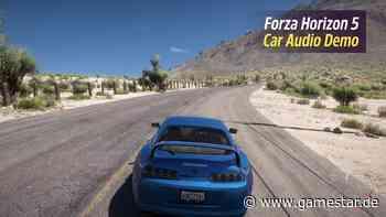 Forza Horizon 5 - Für den Motorsound-Trailer solltet ihr eure Boxen aufdrehen - GameStar