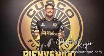Liga 1: Nicolás Royón fue presentado como nuevo jugador de Cusco FC - Futbolperuano.com
