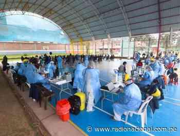 Vacunatón en Cusco atendió a más de 47 mil personas mayores de 40 años - Radio Nacional del Perú
