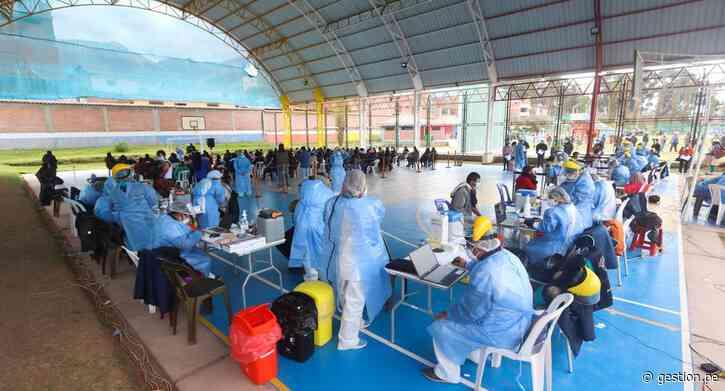 COVID-19: Cusco, Tumbes e Ica se unen a la segunda vacunatón contra el coronavirus - Diario Gestión