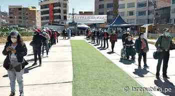 Masiva asistencia se registró a vacunatorios de Cusco y Tacna - LaRepública.pe