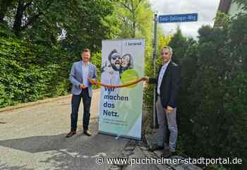 Glasfaser für Puchheim: Vermarktung für das schnelle Netz startet   Puchheimer Stadtportal - Puchheimer Stadtportal