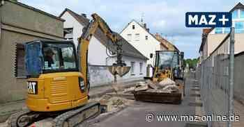 Luckenwalde: Buchtstraße ist gesperrt und wird saniert - Märkische Allgemeine Zeitung
