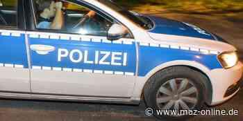 Luckenwalde: Polizei sucht nach Unfallverursacher - Märkische Allgemeine Zeitung