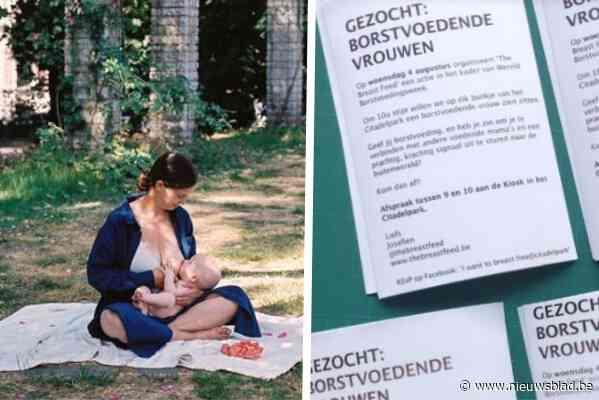 """Josefien (33) roept andere mama's op om borstvoeding te geven in het park: """"Het is zoiets moois"""""""