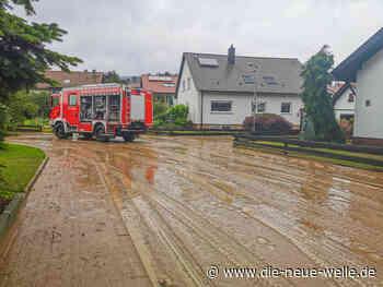 Chaos nach Unwetter in Kraichtal im Landkreis Karlsruhe - die neue welle - die neue welle