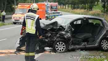 Tödlicher Unfall im Kreis Warendorf: Autofahrer stirbt nach Unfall auf der B475 - Meinerzhagener Zeitung
