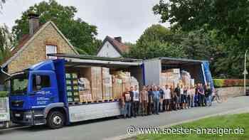 Feuerwehr Ense bringt Hilfsgüter nach Euskirchen - soester-anzeiger.de