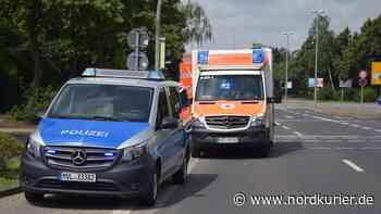 Radfahrerin bei Unfall in Neubrandenburg schwer verletzt - Nordkurier