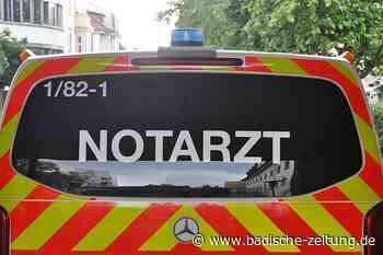 Ettenheims Bürgermeister Bruno Metz will duales Notarztsystem - Ettenheim - Badische Zeitung