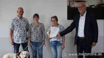 Urkunde für Pferdefreunde Sandfeld 8: 800. Stiftung in Weser-Ems kommt aus Elsfleth - Nordwest-Zeitung