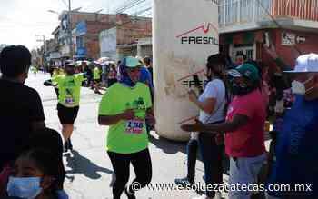 Atletas compitieron en la carrera atlética a Plateros-Santa Ana - El Sol de Zacatecas