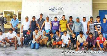 Más de 50 detenidos tras operativos en Santa Ana - Solo Noticias