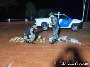 Decomisaron en Santa Ana un cargamento de droga valuada en $6 millones - Misiones Cuatro