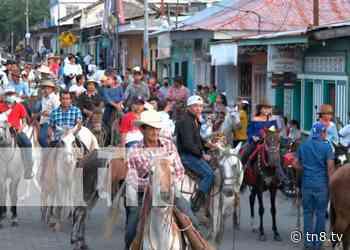 Realizan show hípico en honor a Santa Ana - TN8 Nicaragua