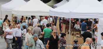 La XXXVI Feria de Artesanía de Santa Ana vuelve hoy a Okendo plaza - Diario Vasco