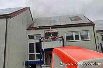 FW-BOT: Zwei Verletzte bei Wohnungsbrand in Bottrop Fuhlenbrock - Presseportal.de