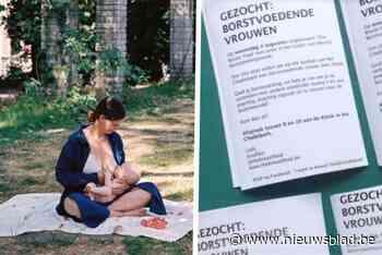 """Josefien (33) roept andere mama's op om borstvoeding te geven in het park: """"Het is zoiets moois"""" - Het Nieuwsblad"""