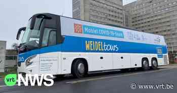 Proefproject in Aalst: testbus van UZ Gent test jongeren voordat ze op kamp vertrekken - VRT NWS