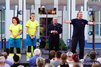 Speelplaats wordt openluchttheater voor de kettingbotsing va... (Gent) - Het Nieuwsblad