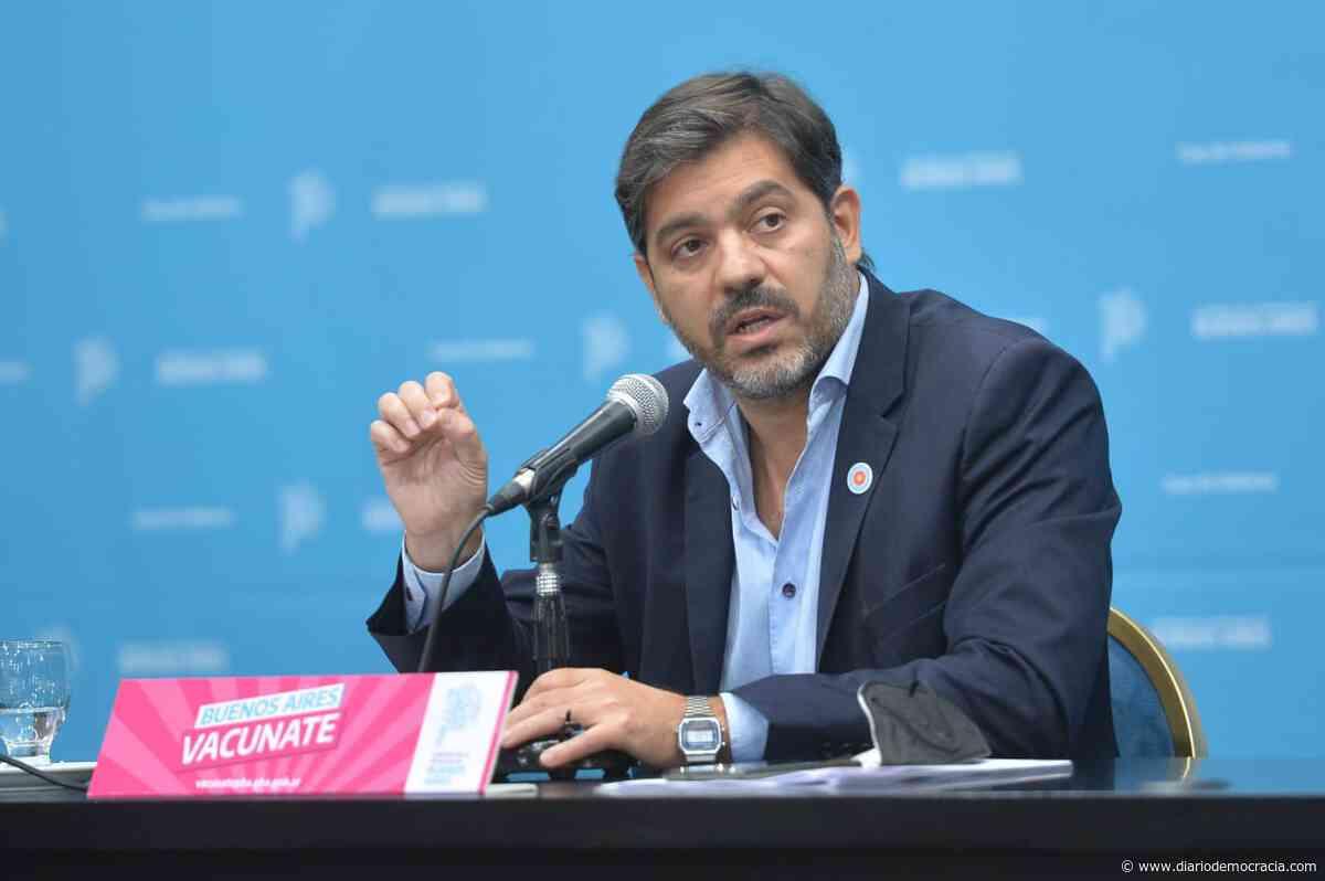 Bianco firmó una denuncia en plena conferencia contra una persona que no cumplió el aislamiento al volver del exterior - Diario Democracia