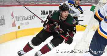 Arizona Coyotes available and protected lists have been released - Five for Howling