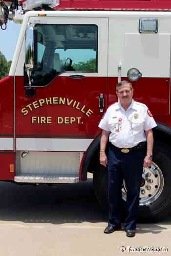 Stephenville Fire Chief retires after 50 years of service - JTAC News