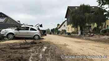 Sie trotzen der Zerstörung: Im Grünen Weg in Sinzig schwanken die Anwohner zwischen Trauer und Tatendrang - Rhein-Zeitung