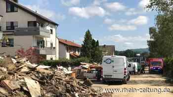 Noch immer herrschen Verwüstung und Chaos: Wie Sinzig durch das Wochenende gekommen ist - Rhein-Zeitung