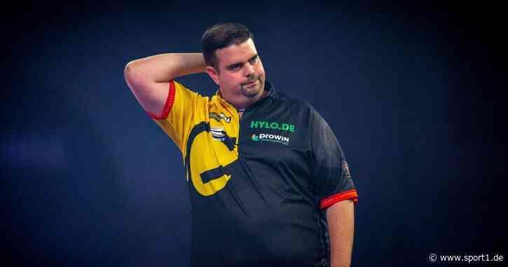 Darts: Clemens chancenlos ausgeschieden bei World Matchplay - SPORT1