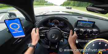 El Mercedes AMG GT Black Series muestra su potencial en la Autobahn - Car and Driver