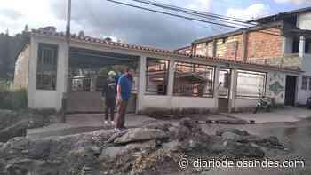 Protestan en Boconó por colapso de aguas servidas - Diario de Los Andes