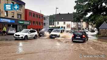 Hochwasser in Arnsberg/Sundern: Das passierte am Mittwoch - WP News