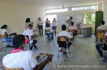 Verifican protocolos de bioseguridad para regreso a clases en Ciénaga - El Informador - Santa Marta