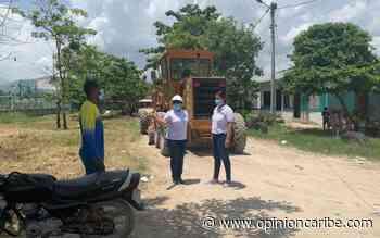 Alcaldía de Ciénaga continúan trabajando en las vías del municipio - Opinion Caribe