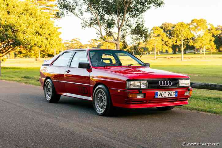 'Rare As Rocking Horse Sh*t' 80s Audi Quattro Up For Sale In Sydney