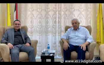 Subdirector del Comité Central del Movimiento de Liberación Nacional de Palestina saluda al 42/19 - El 19 Digital