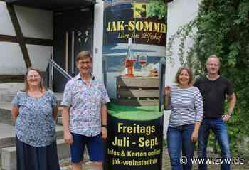 Open-Air-Konzerte in Weinstadt: Corona treibt den Jazzclub aus dem Keller - Weinstadt - Zeitungsverlag Waiblingen - Zeitungsverlag Waiblingen