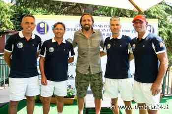 Nargiso in visita allo Junior Tennis Perugia: «Qui mi sento a casa» - Umbria 24 News