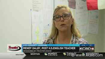 Community Coverage Tour Teacher Spotlight: Mendy Dalby - KCBD