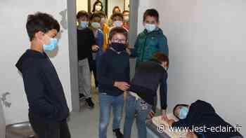 Barberey-Saint-Sulpice: les enfants en visite à la gendarmerie - L'Est Eclair