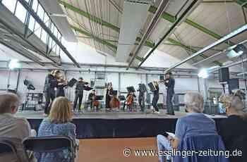 Konzert in Esslinger Autowerkstatt - Der Klang von Maschinen - esslinger-zeitung.de