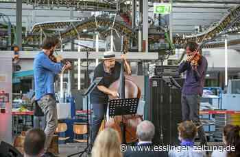 Podium Festival Esslingen - Streichtrio begeistert mit Science-Fiction-Musik - esslinger-zeitung.de