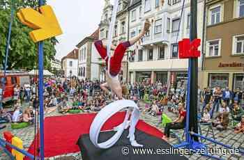 Esslinger Straku - Kultur setzt Farbtupfer in der City - esslinger-zeitung.de