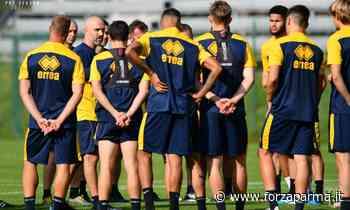 Le ultime da Castelrotto: possesso palla e partitella - Forza Parma