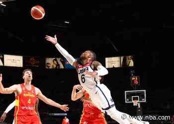 Before Leaving For Tokyo, Lillard Leads USA Again In Win Versus Spain