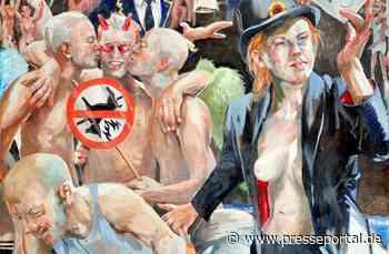 Die 'Nackte Gewalt' dauerhaft im Rosenhang Museum Weilburg - Presseportal.de