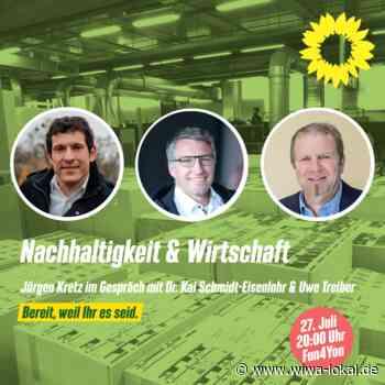 Podiumsdiskussion - Nachhaltigkeit & Wirtschaft - www.wiwa-lokal.de