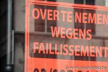 Zeven nieuw faillissementen